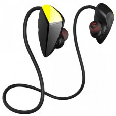AWEI A887BL wireless Bluetooth Earphone-Black and yellow