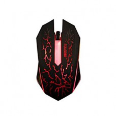 Wired Gaming Mouse Lighting - Red and Black