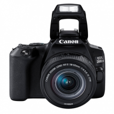 Canon EOS 200D Mark II DSLR with 18-55mm f/4-5.6 IS STM Lens – Black