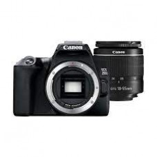 Canon EOS 250D DSLR Camera with 18-55mm f/3.5-5.6 III Lens – Black