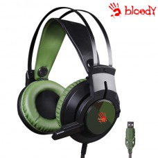A4techBloody J437 Glare Gaming Headphone (Green/Black)