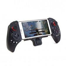 PG-9023 Extendable Game Controller Portable Wireless Game pad Joystick Control for Android Phone - Black