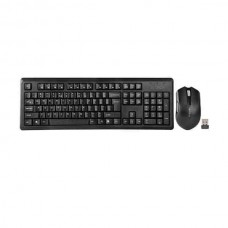 A4 TECH 4200N V-TRACK 2.4G WIRELESS BANGLA KEYBOARD WITH WIRELESS PADLESS MOUSE