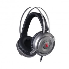 A4TECH BLOODY G520 VIRTUAL 7.1 SURROUND SOUND GAMING HEADSET USB GREY