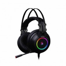A4TECH BLOODY G528 RGB VIRTUAL 7.1 SURROUND SOUND USB BLACK GAMING HEADSET