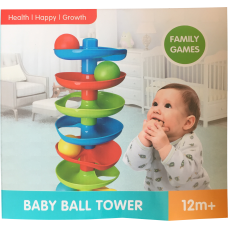 Baby Ball Tower back