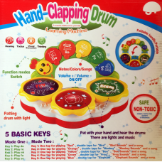 Hand Clapping Drum Toys