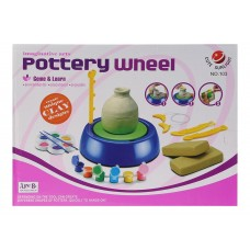 Imaginative Arts Pottery Wheel Game for Kids, Game and Learn Educational Toy