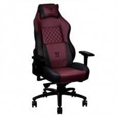 Thermaltake X Comfort Real Leather Burgundy Red Gaming Chair