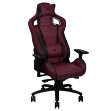 Thermaltake X Fit Real Leather Burgundy Red Gaming Chair