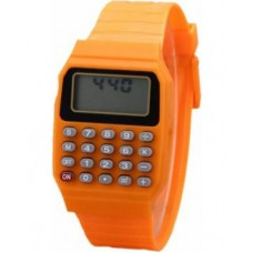 Calculator Wrist Watch for Kids - Orange