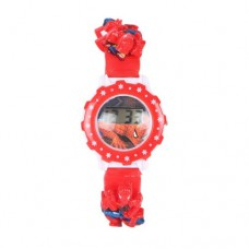 Red Plastic Watch For Boys