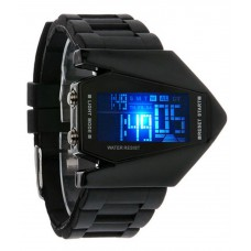 Silicone LED Watch for Kids - Black