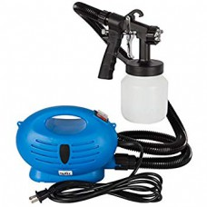 Professional Electric Paint Sprayer with Gun - Black and Blue