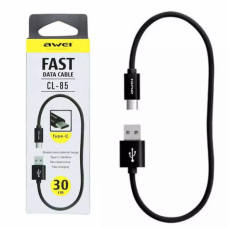 AWEI CL-85 30CM TYPE-C FAST DATA CABLE