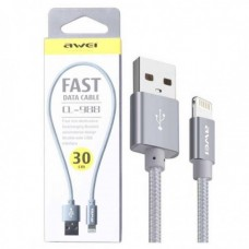 AWEI CL-988 30CM IPHONE FAST DATA CABLE