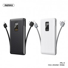 REMAX PPL-11 3J LINON SERIES 10,000MAH POWER BANK WITH CABLE