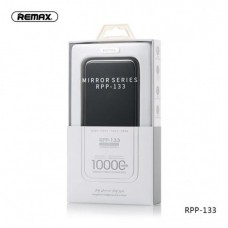 REMAX MIRROR SERIES RPP-133 10000MAH WIRELESS CHARGER & POWER BANK