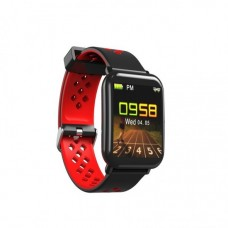 DM06 SILICONE BLUETOOTH SPORTS IP68 WATERPROOF SMART WATCH