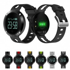 DM58 SILICONE SMART WATCH HEART RATE SMARTBAND BLUETOOTH 4.0